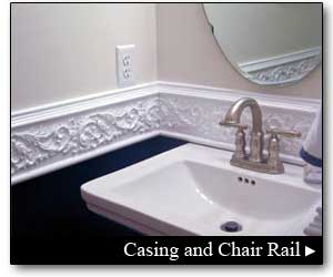 Molding, Casing and Chair Rail