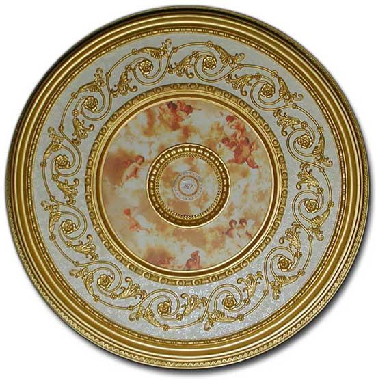 Brrd 8 030ls Michelangelo Ceiling Medallion