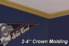 "2"" to 4"" Crown Molding"