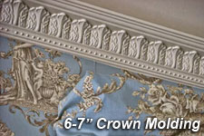 "6"" to 7"" Crown Molding"