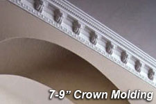 "7"" to 9"" Crown Molding"