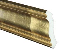 Gold Foil Crown Molding