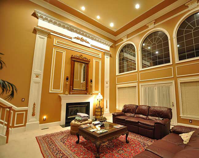 - Cathedral Ceiling Livingroom