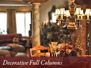 Decorative Full Columns