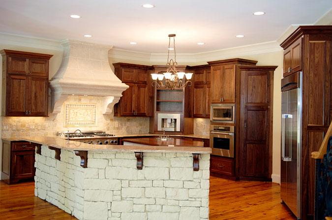 Semi Rustic Kitchen Decor
