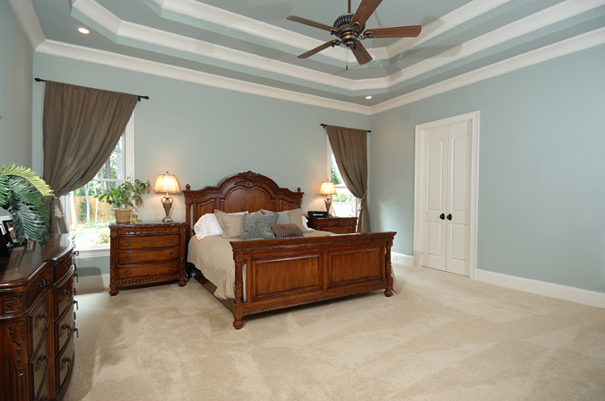 Three Tiered Ceiling In Bedroom