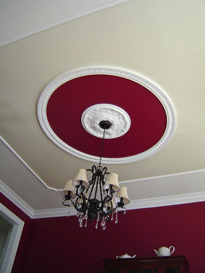 Faux Tray Ceiling Design