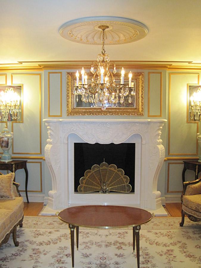 Rococo Fireplace Design