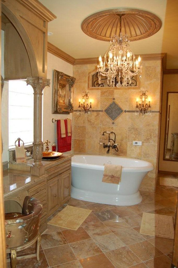 luxury bathroom ceiling design