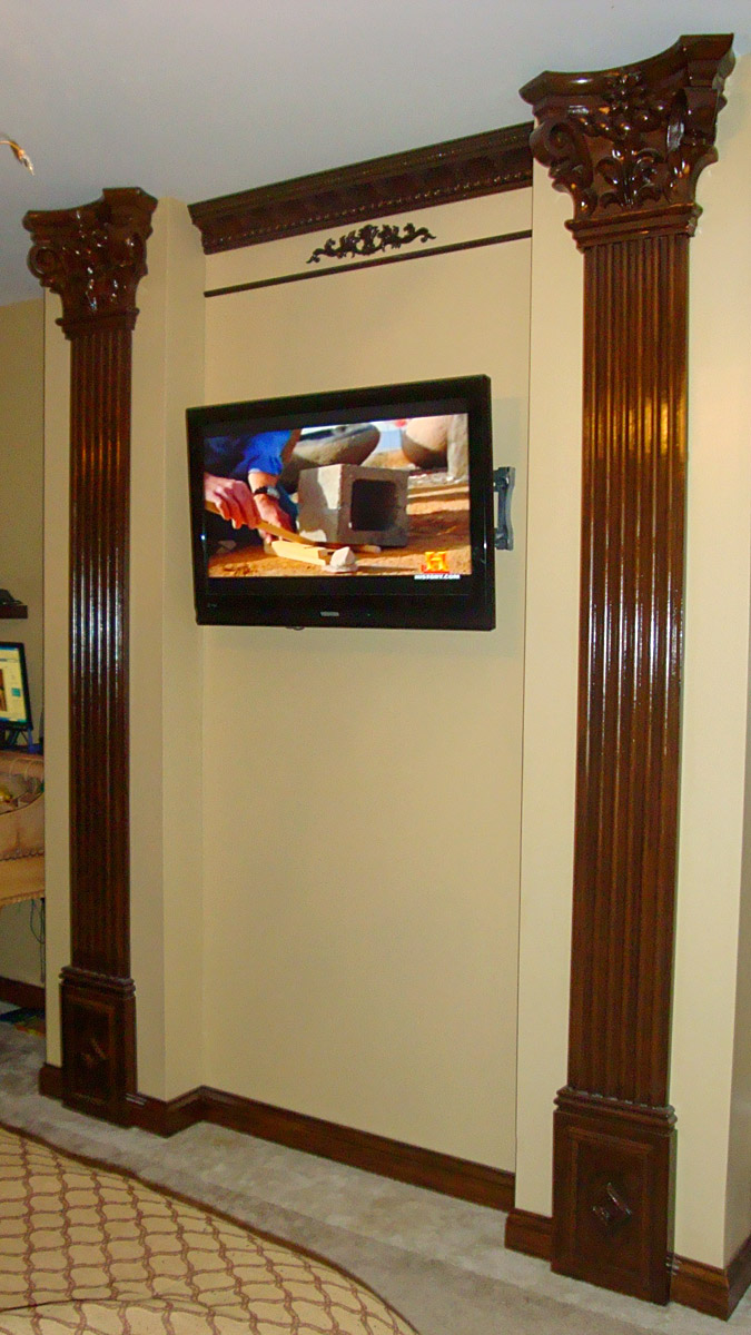 Flat Column Decor