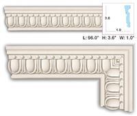 fm 5570 flat molding - Decorative Molding