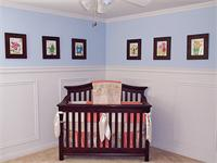 chair rail nursery. Contemporary Rail Throughout Chair Rail Nursery Y