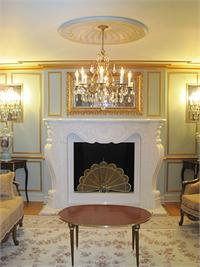 Rococo Fireplace Design