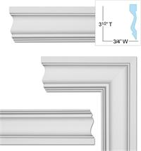 FM-7000 Flat Molding  sc 1 st  WishiHadThat.com & Door and Window Trim Superstore pezcame.com