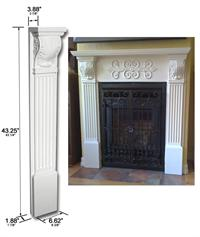 CB 1029 CorbelFireplace Mantels at WishIHadThat com. Fireplace Mantel Corbels. Home Design Ideas