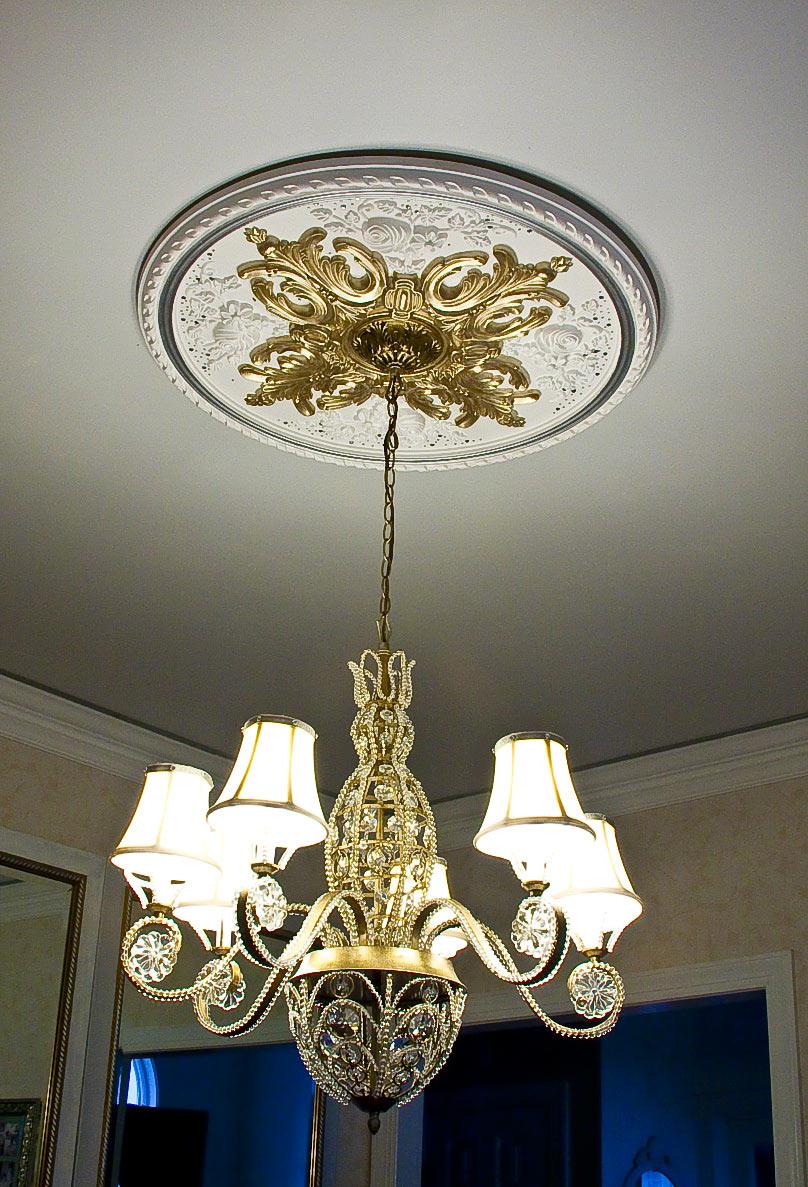 Ceiling Medallion Showcase