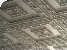Custom drop ceiling tiles