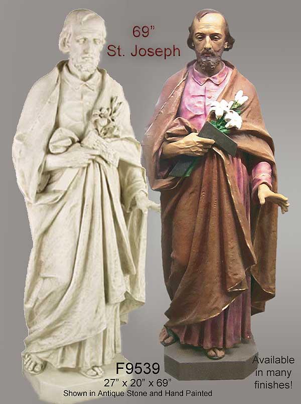 69 Saint Joseph Statue