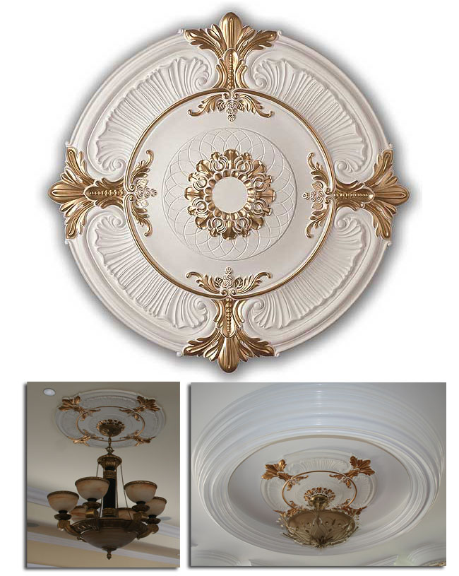 Wishihadthat Light Fan Ceiling Medallion Polyurethane