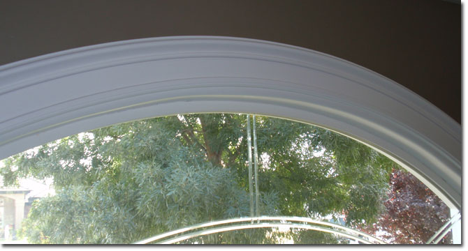 Installing Molding On Arched Windows And Doorways