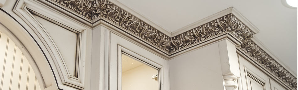 Crown Moulding Ornate Style