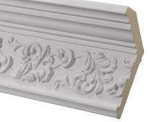 Ornate Foilage Crown Molding