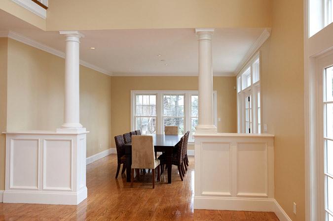 Indoor Columns Dining Room With For Sale Indoor Columns Interior ...