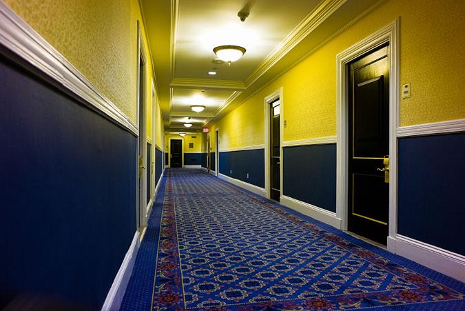 Hotel Hallway Design