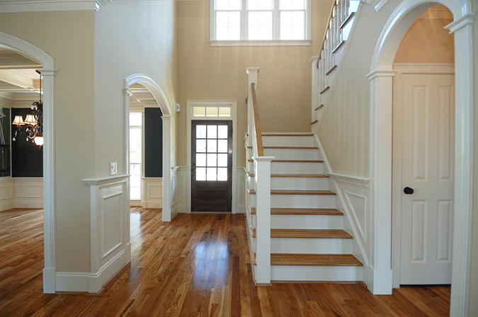 Foyer Door Trim : Entryway molding design