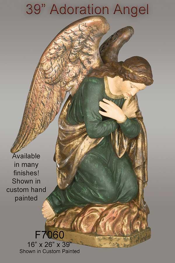 39 Quot Adoration Angel Statue