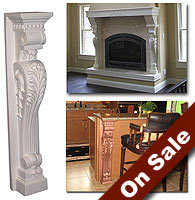 fireplace mantel corbels. Fireplace Mantels at WishIHadThat com